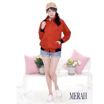 Harga preferensial AGNEZ Jaket Topi Wanita Fashion Berkualitas Okechuku  (Merah) beli sekarang - Hanya Rp135.900 83b6e96bee