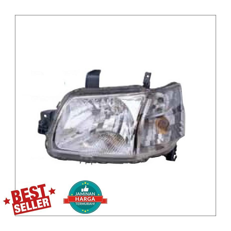 211-1135-RD Headlamp Daihatsu Grand Max Wagon 08-13 Crystal Chrome