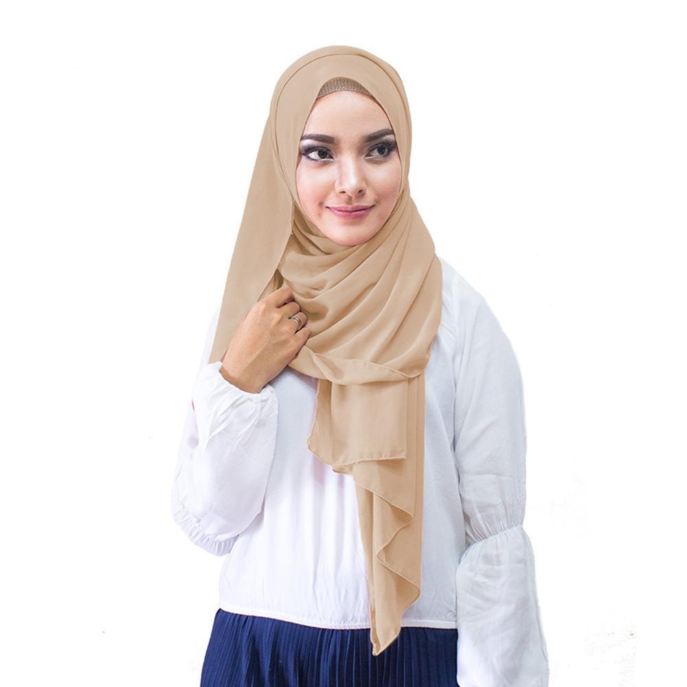 Hijabku Murah Pasmina Ceruti - [Warna Coksu]