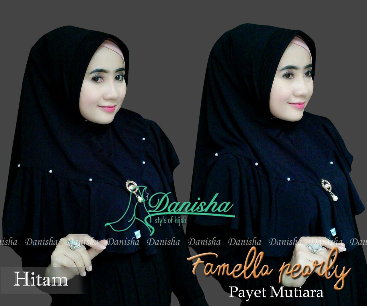 Hijab Famella Pearly Original By Danisha umadera