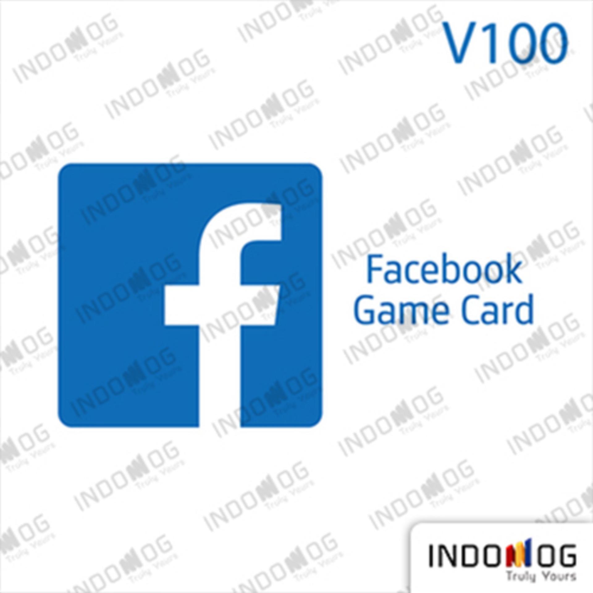 Indomog Facebook Game Card 100.000