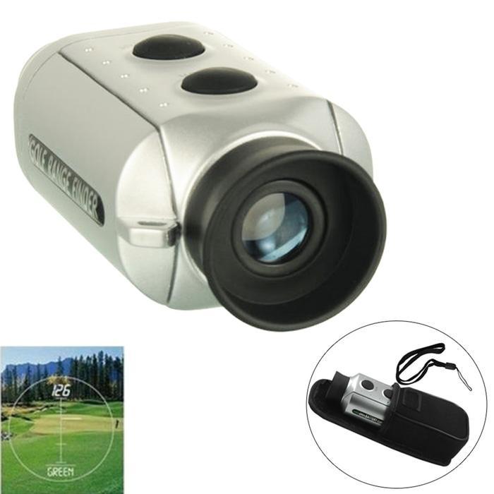 Digital 7X18 Golf Range Finder / Teropong Gold
