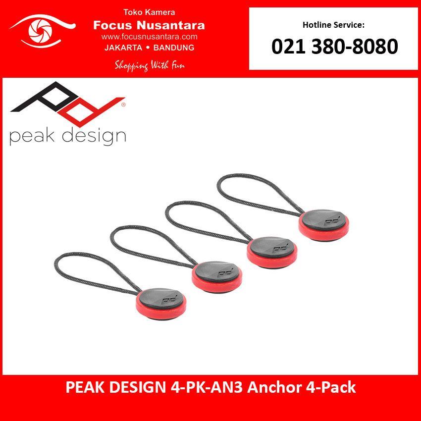 PEAK DESIGN 4-PK-AN3 Anchor 4-Pack