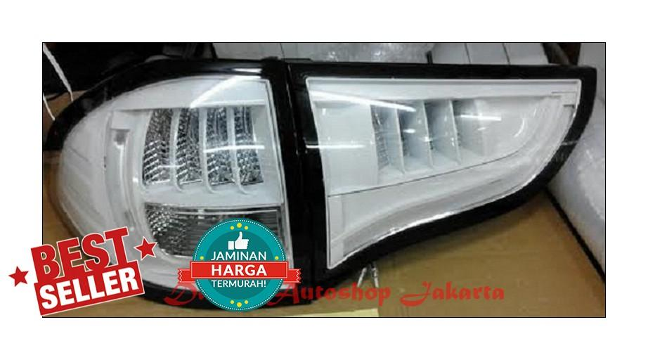 Stoplamp Mitsubishi Pajero Sport 2009 - 2014 LED Bar Crystal White EE