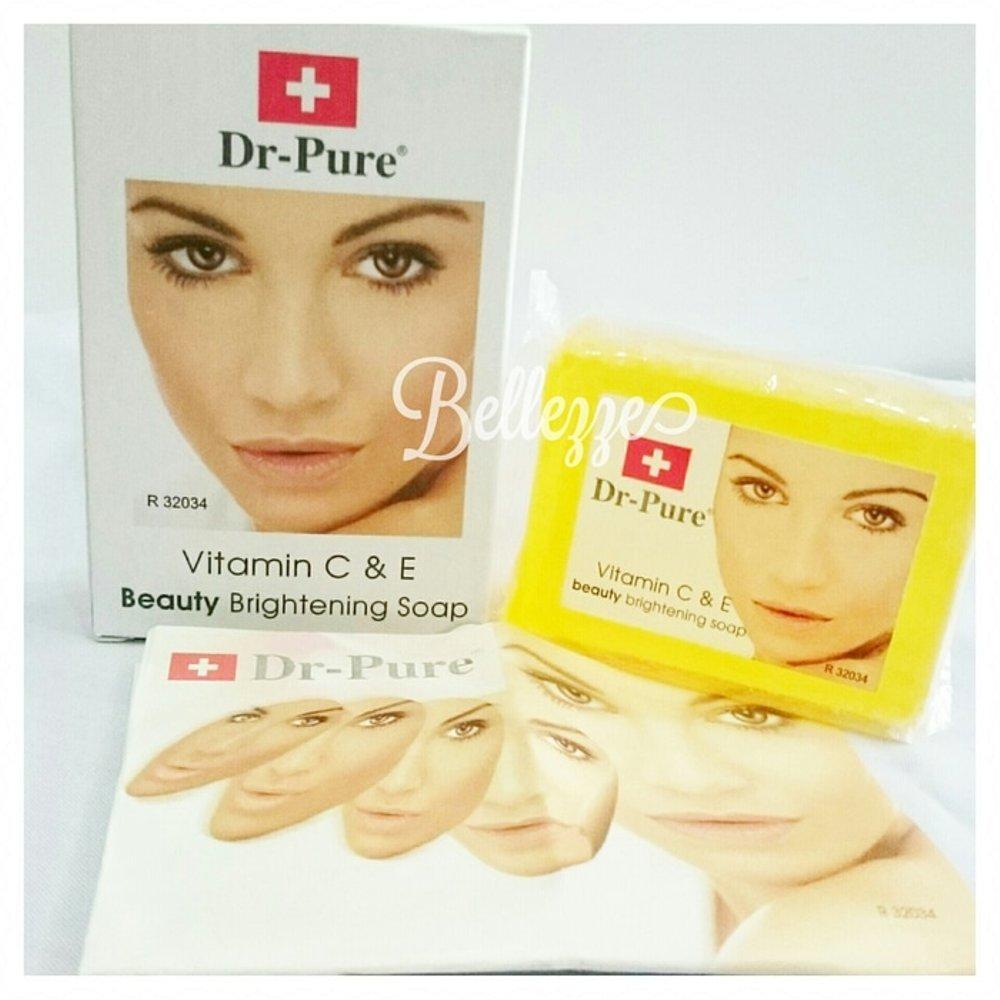 Promo Dr Pure Sabun Wajah Whitening Soap BPOM