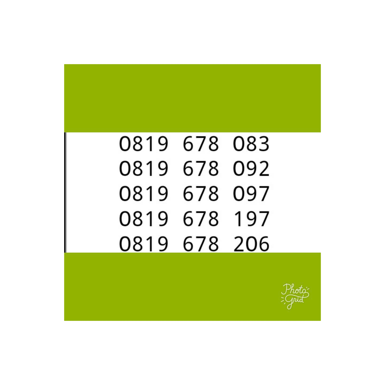 Xl Axiata Nomor Cantik 0818 0666 5252 Daftar Harga Terupdate dan Source · Nomor Cantik XL
