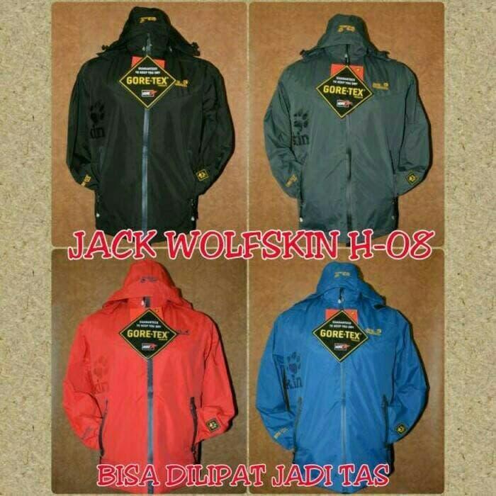 HARGA DISKON!!! Jaket Gunung / Outdoor Jack Wolfskin H-08 Polar Bag - d08SNi