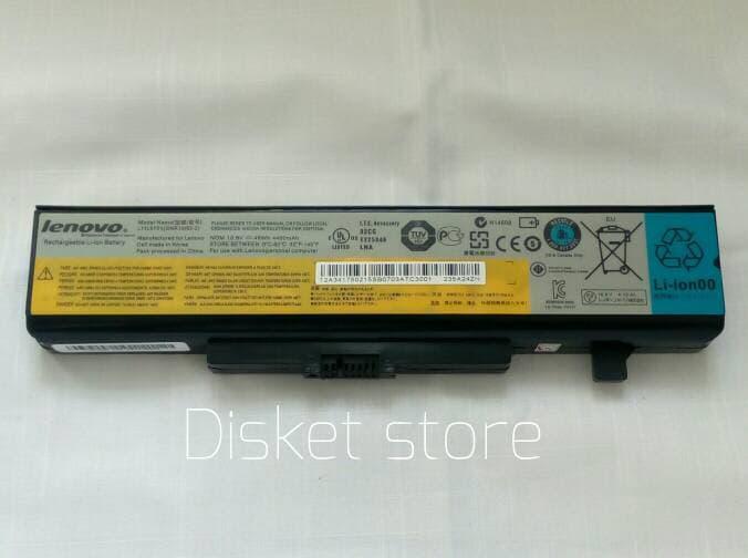 Baterai Lenovo Original G480 G485 G580 G585 Y480 Y485 Z480 V480