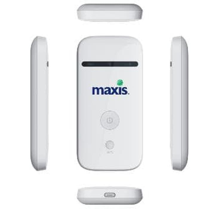 Mifi Modem Wifi Router 4G ZTE MF65 UNLOCK ALL GSM Semua Kartu GSM 3G 1500mah Hingga 10 Pengguna - White