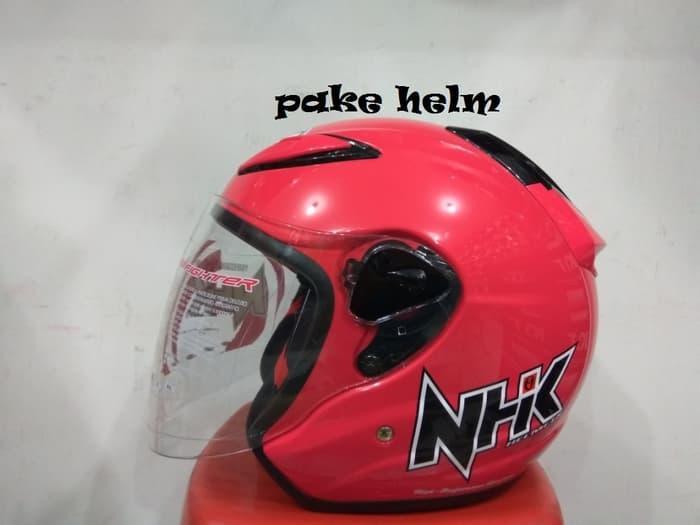 HELM NHK R6 SOLID PINK MAGENTA R 6