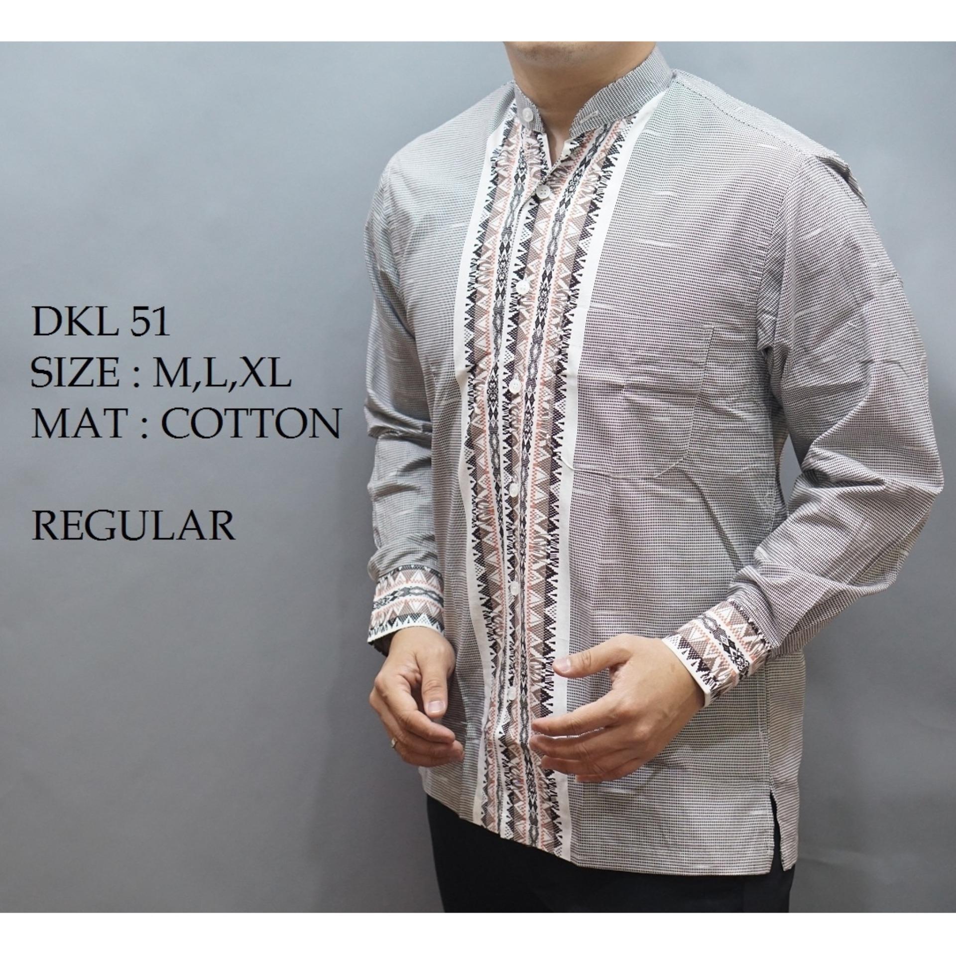 Baju Kemeja KOKO Pria / Baju Muslim Pria / Koko Modern / Busana Muslim