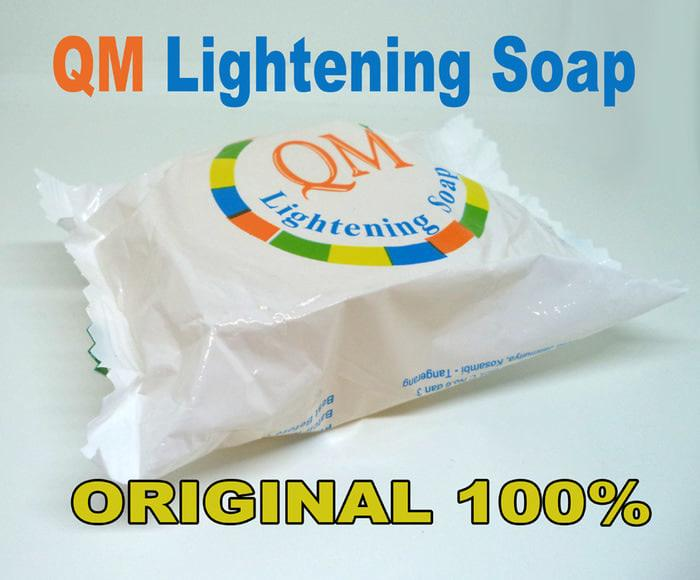 [ KUNING QM LIGHTENING ] QM LIGHTENING - SABUN QM WHITENING BPOM