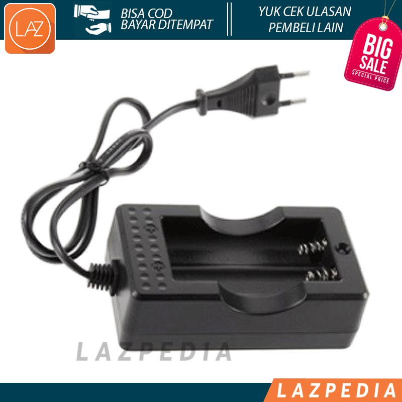 Cell Charger 18650 Cas Baterai Dual Battery Slot A-CC-02 Rechargeable Energizer Casan