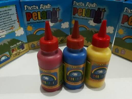 Promo  Cat Finger Painting - Pasta Ajaib Pelangi  original