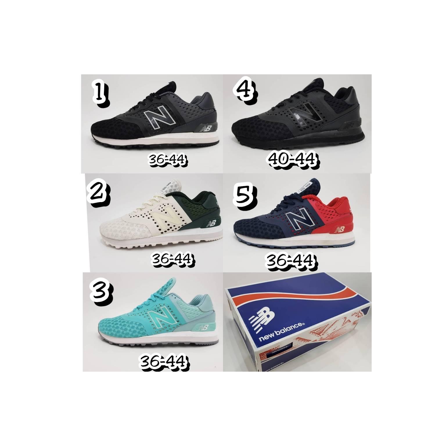 Sepatu Nb New Balance 574 Pria Laki Cowok Casual Santai 565 Sneakers Hitam Pantai Musim Panas Zs918 Parks