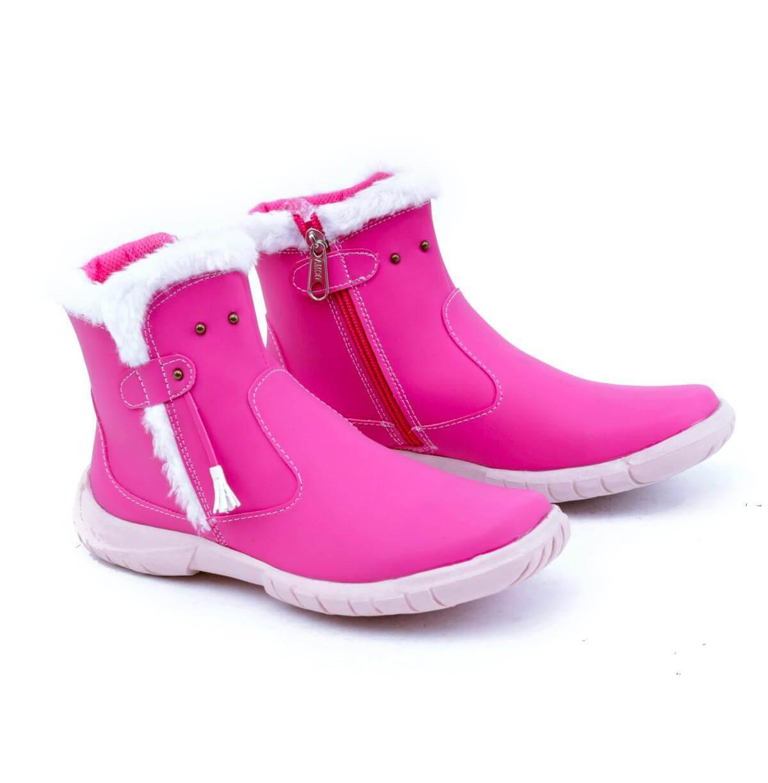 Garsel Shoes Sepatu Sneakers Anak Cewe Pink GW 9542
