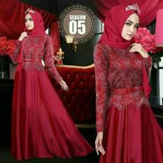 J&C Setelan Dress Mozza / Dress Maxi / Stelan 2in1 / Maxi Muslim / Setelan Maxi