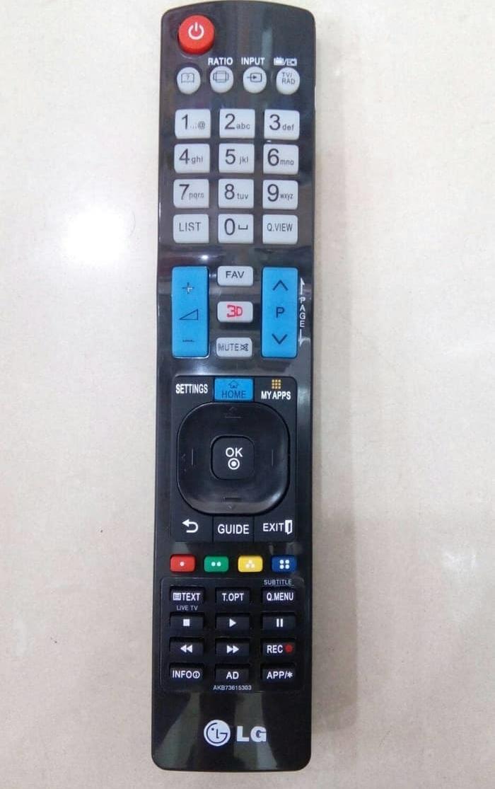 Remot LG Tv Led/lcd/plasma 3D/3DIMENSI