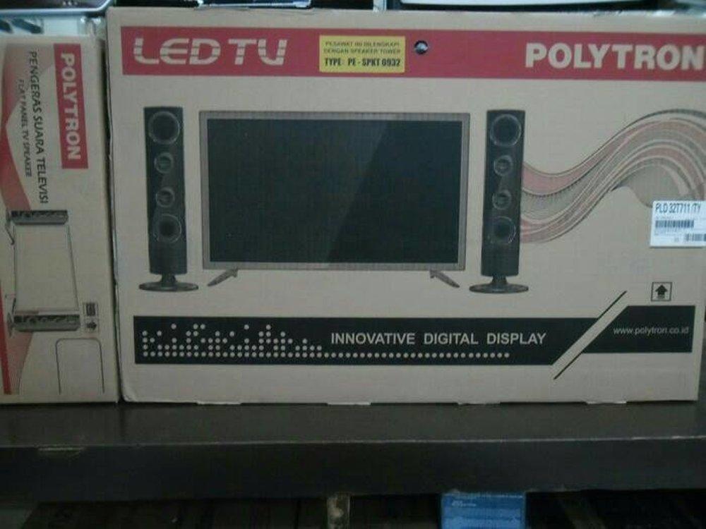 TV LED POLYTRON 32T100 SPEAKER CINEMAX TV LED 32