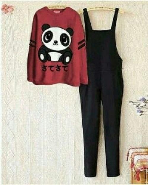 Gudangbaju JUMPSUIT PANDA  / Setelan Wanita /Jump panda / Jamsuit Wanita / Celana Panjang / Celana