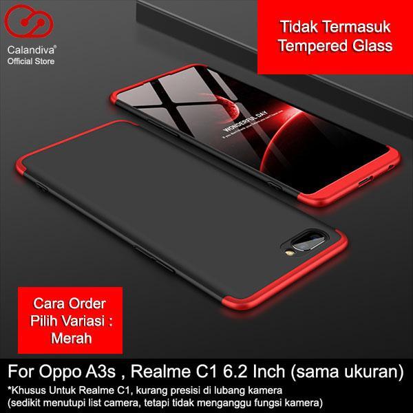 Calandiva Hard Case Oppo A3s , Realme C1 ,Oppo A5 (versi China) (