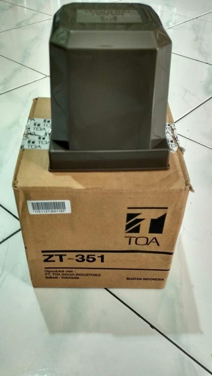 Jual Peralatan Audio Toa Megaphone Pengeras Suara Speaker Demo Zt 351 Trafo Matching Transformer Original Resmi Zt351