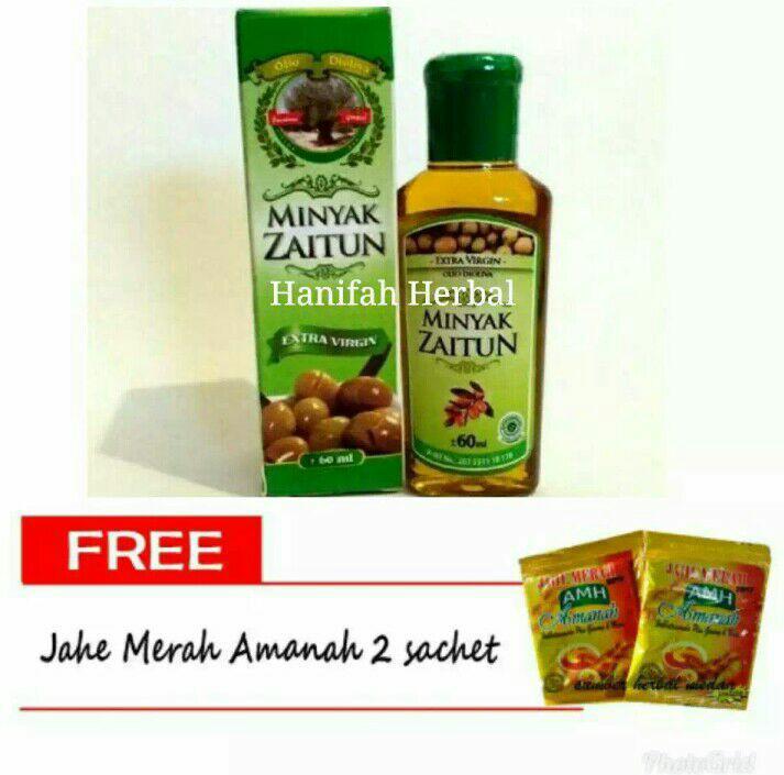 Minyak Zaitun Extra Virgin Olive Oil Al-Ghuroba' 60 mL