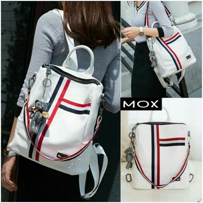 PROMO!!! tas ransel punggung bag wanita bagpack kotak model jepang korea murah - AP1gFl