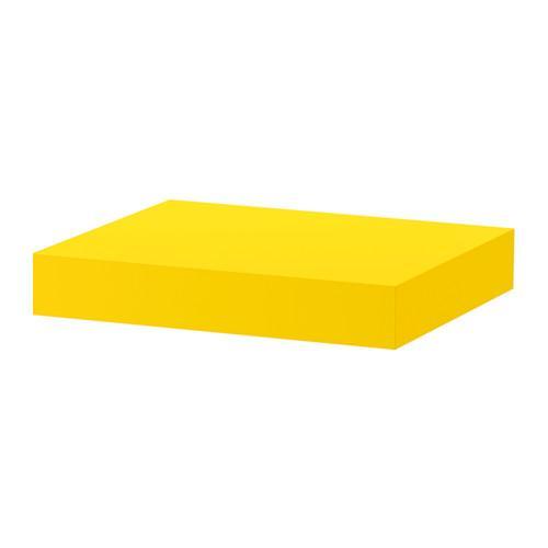 PROMO!! IKEA LACK Rak dinding melayang / ambalan 30x26x5 cm, Kuning MURAH /  BUBBLE 3 LAPIS / ORIGINAL / IKEA ORIGINAL