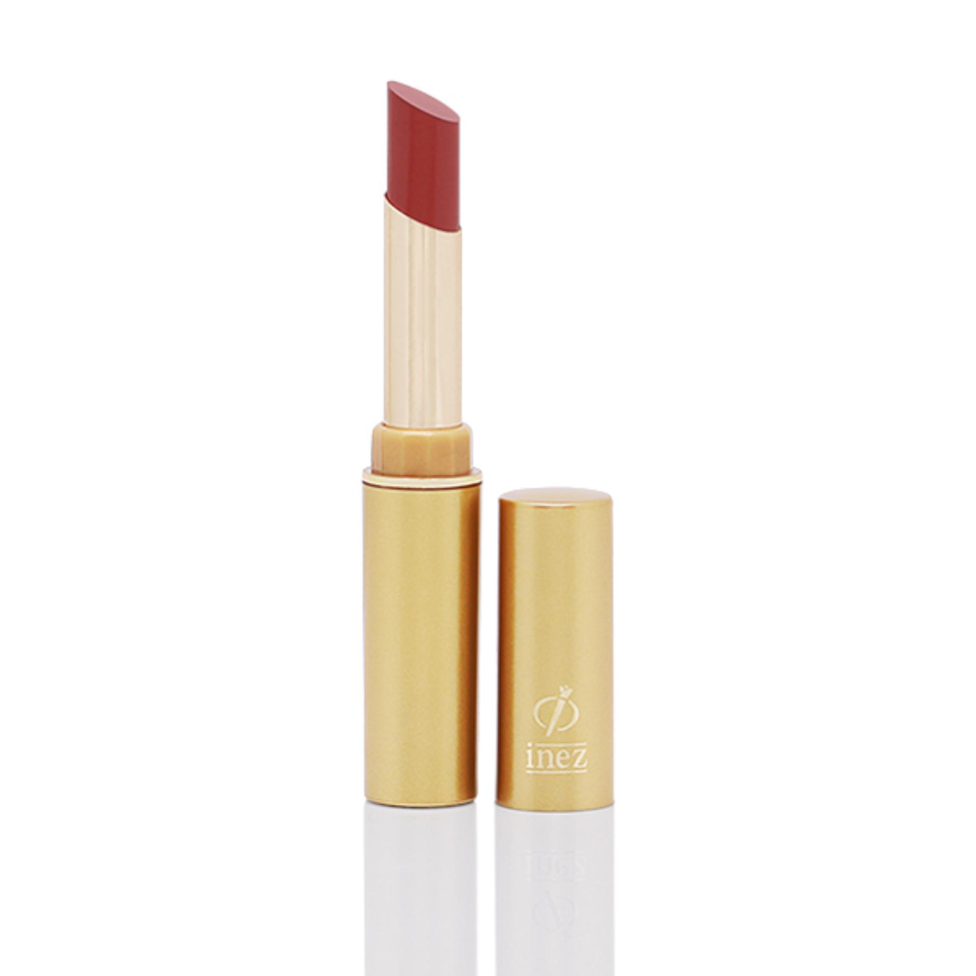 Inez Perfect Glow Matte Lipstick - Coral Red