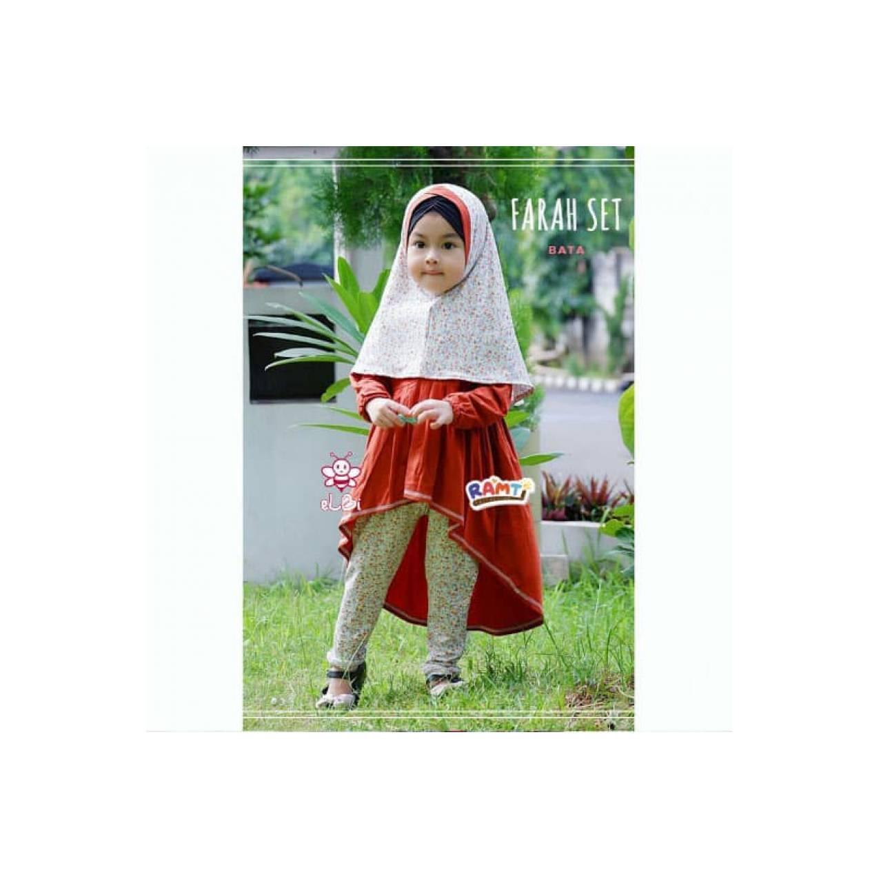 hijab anak cantik I jual baju muslim bayi murah I hijab anak I Farah