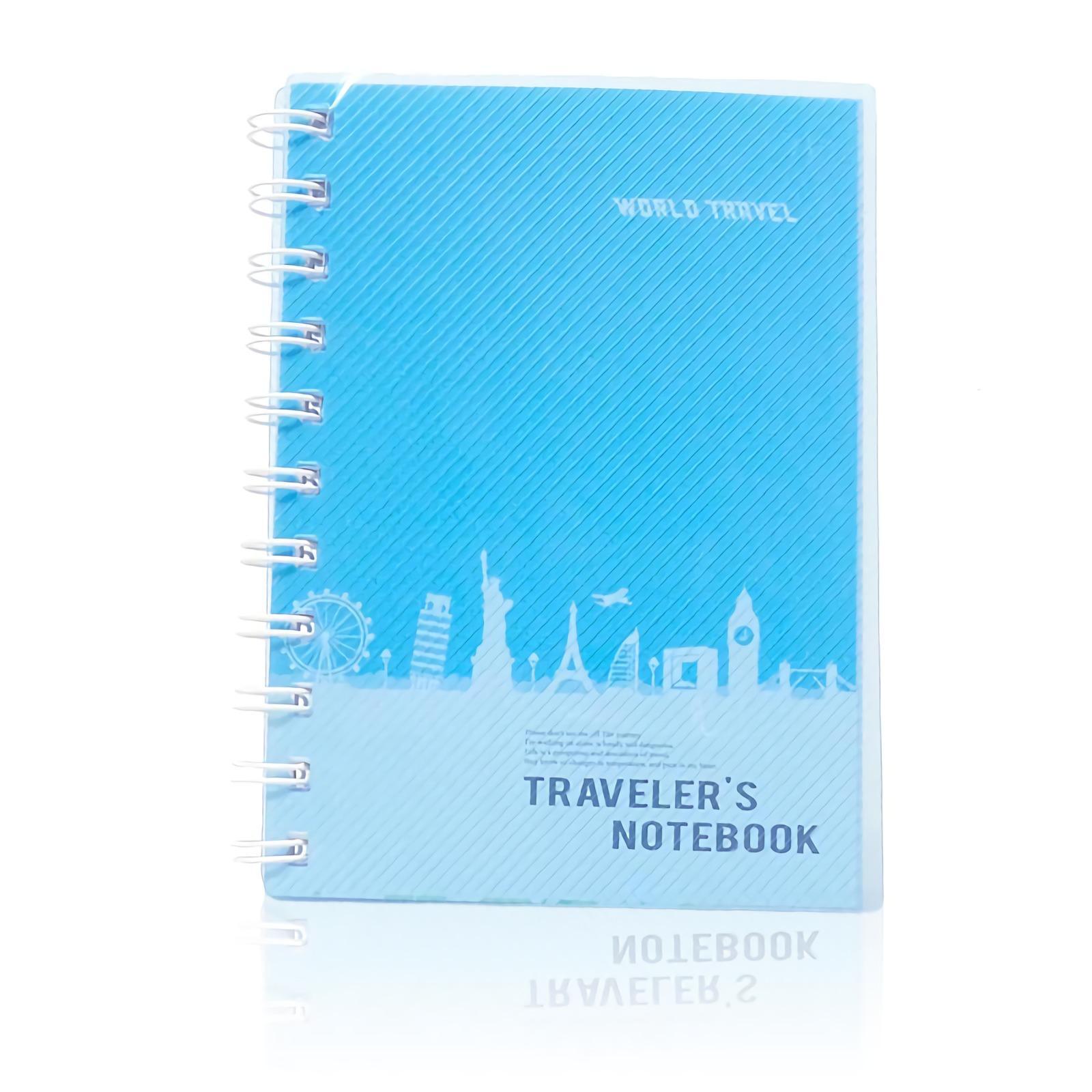 OHOME Buku Tulis [77 Lembar] Note Book Ukuran A6 Notebook Catatan MS-GB-50100-36 Biru