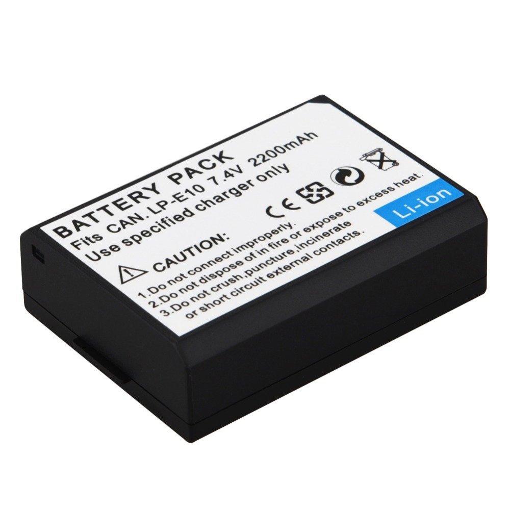 Jual Baterai Kamera Terlengkap Termurah Battery Batre Canon Lp E8 Untuk Tipe Eos 550d 600d 700d Third Party E10 2200mah For 1300d 1100d