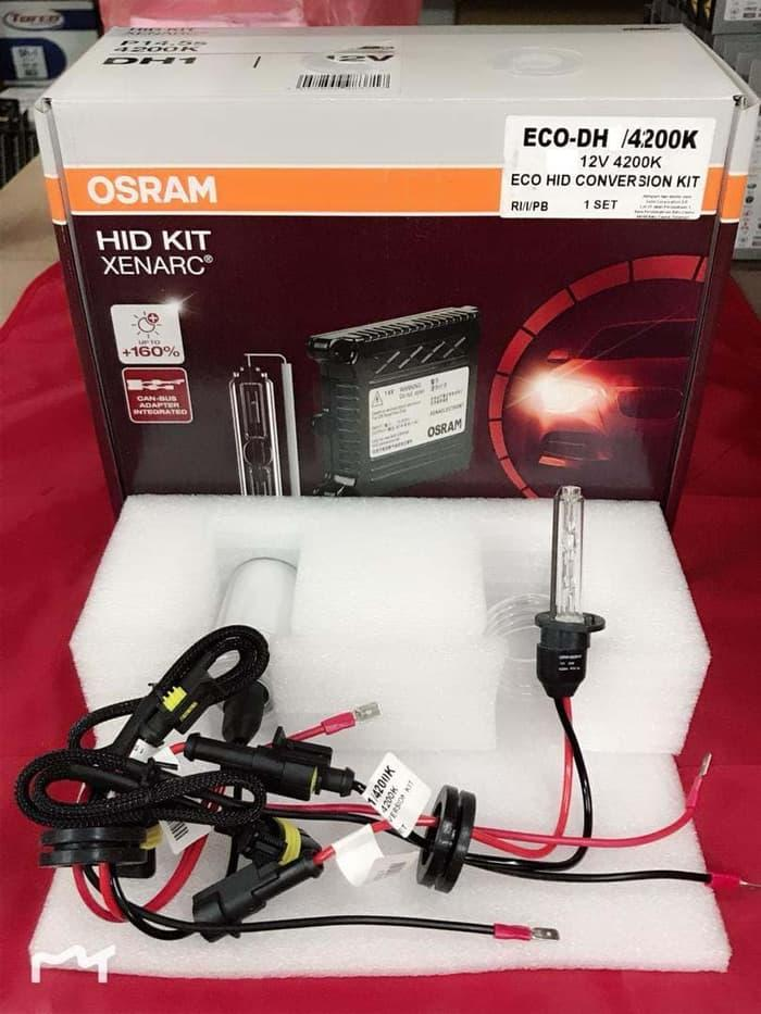 Best Quality LAMPU HID MOBIL OSRAM XENARC H11 6000K (Osram Genuine)