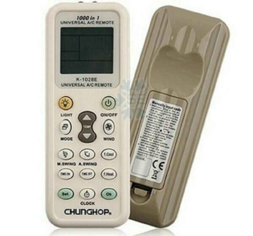 Remote AC AUX / CHANGHONG / DAIKIN / CHUNLAN / CORONA - Putih