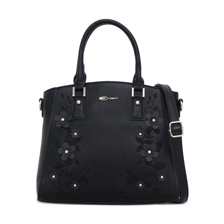 Tas Wanita Emsio by Elizabeth Floretta Handbag Black