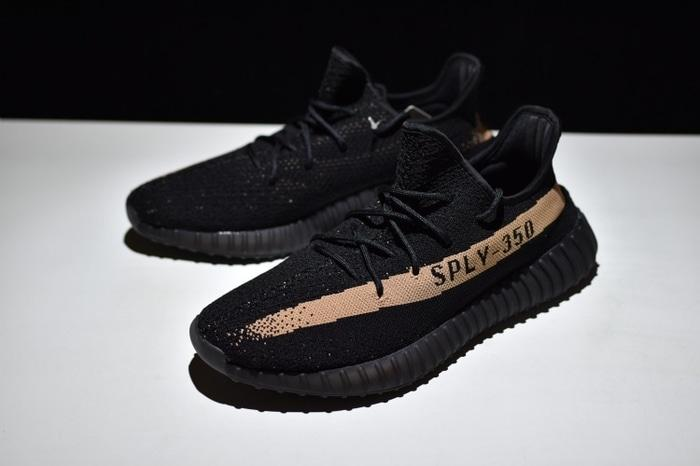 ADIDAS Yeezy Boost V2 SPLY 350 Core Black Copper Original Premium - 9Bt753