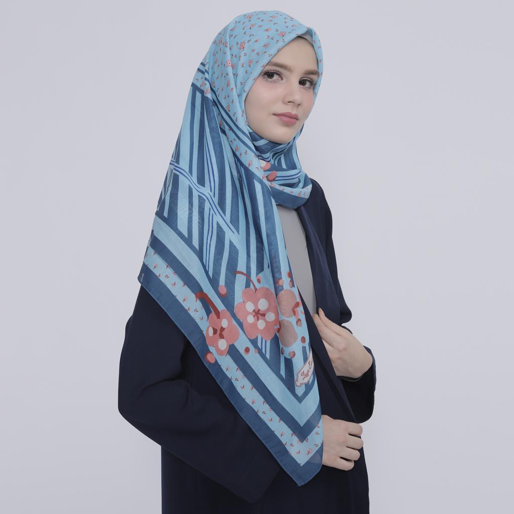 Kerudung Zoya Hijab Segiempat - Farnaz Scarf