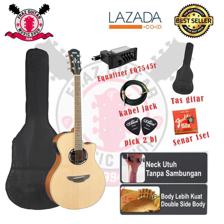 Jual Gitar Terbaru Terbaik Senar Daddario Akustik Elektrik Klasik Nylon Yamaha Apx500ii Grade A