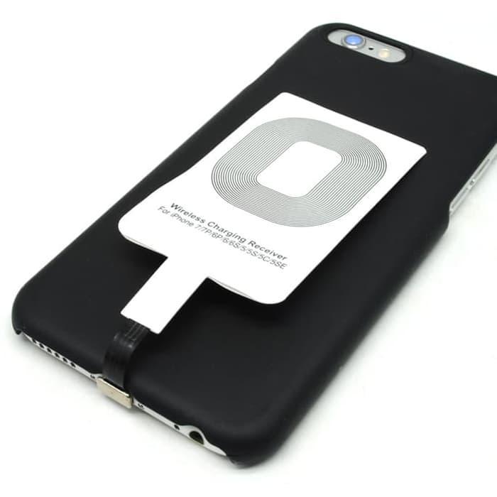 Promo Qi Wireless Charging Lightning Receiver iPhone 6 / 6s / 7 Plus termurah