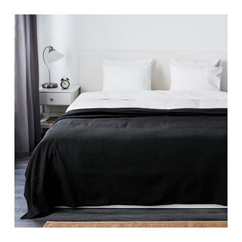 Jual IKEA INDIRA Penutup Tempat Tidur 250X250 Cm- Hitam RZA_01172591