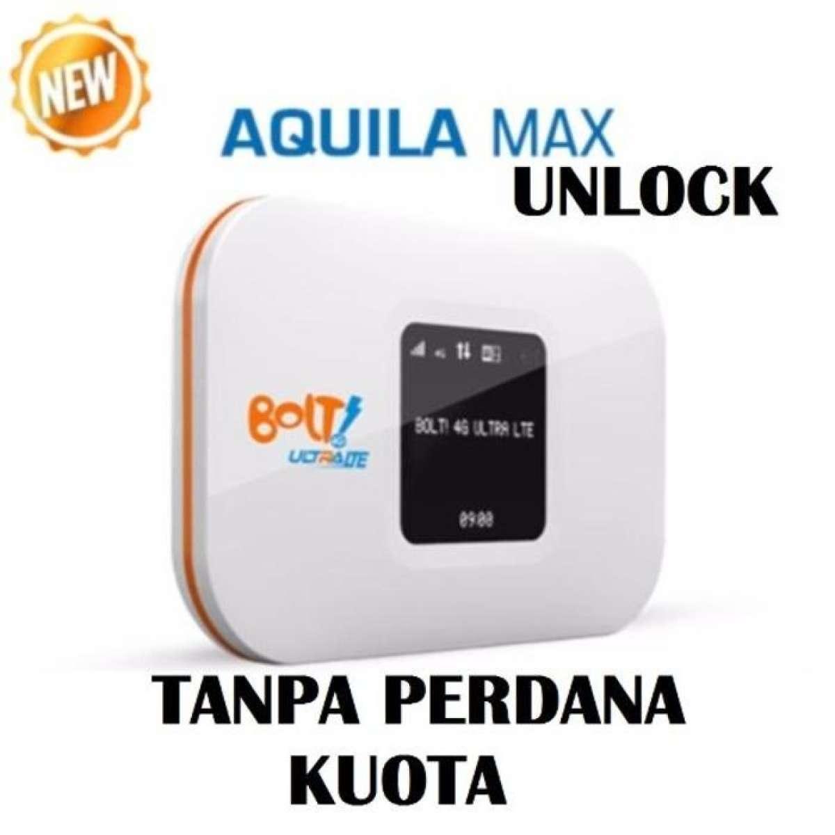 Bolt Aquila Max Modem Wifi 4G LTE 3000Mah-UNLOCK (tanpa kartu)