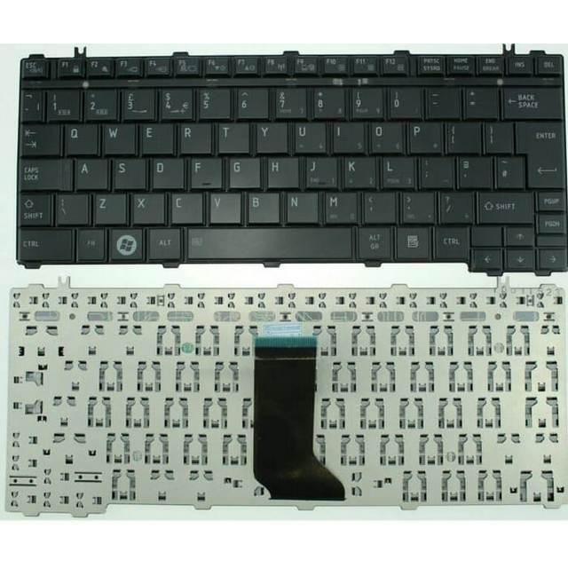 TOSHIBA Keyboard TOSHIBA U400 U500 T135 T130 M800 M900 BLACK