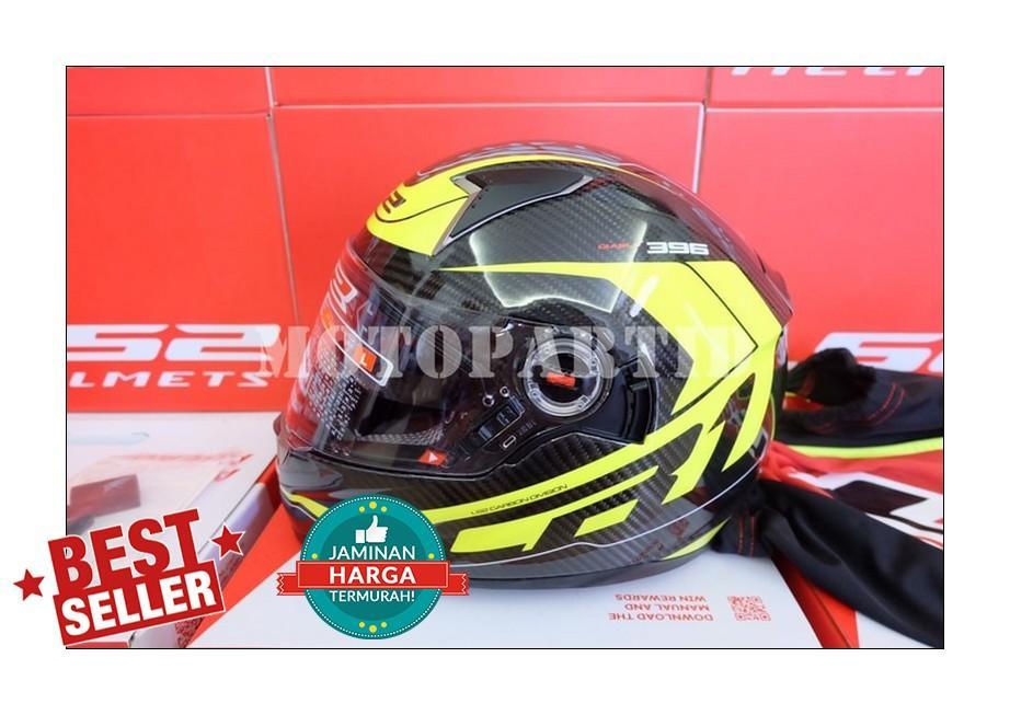 Helm LS2 FF396 Carbon - Diablo - CR1 - Black / Yellow