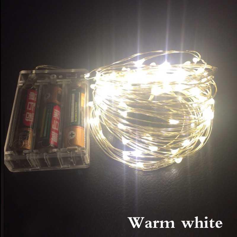 Lampu Hias Dekorasi 50 LED 5 Meter Warm White / Lampu Hias Terbaru Murah / Lampu LED Terlaris Masa Kini