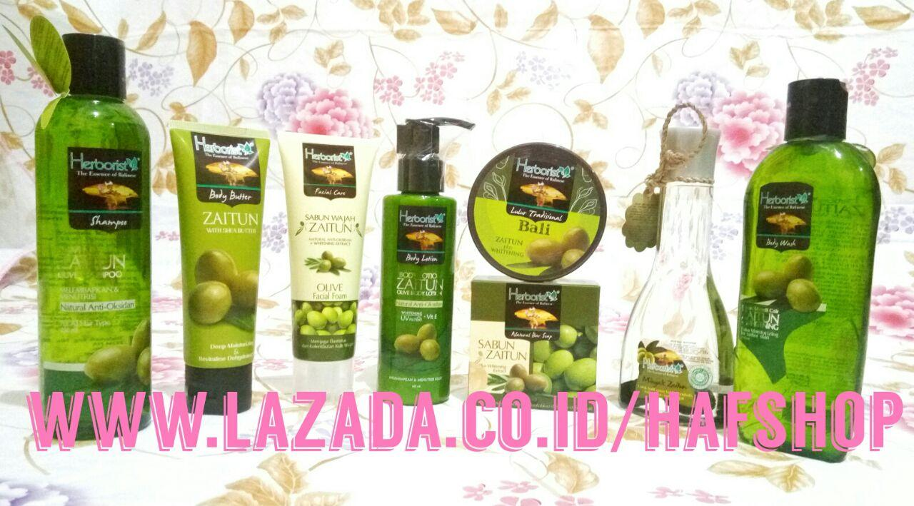 Hafshop Paket Herborist Zaitun Komplit Plus Body Lotion - 8 Pcs By Hafshop.