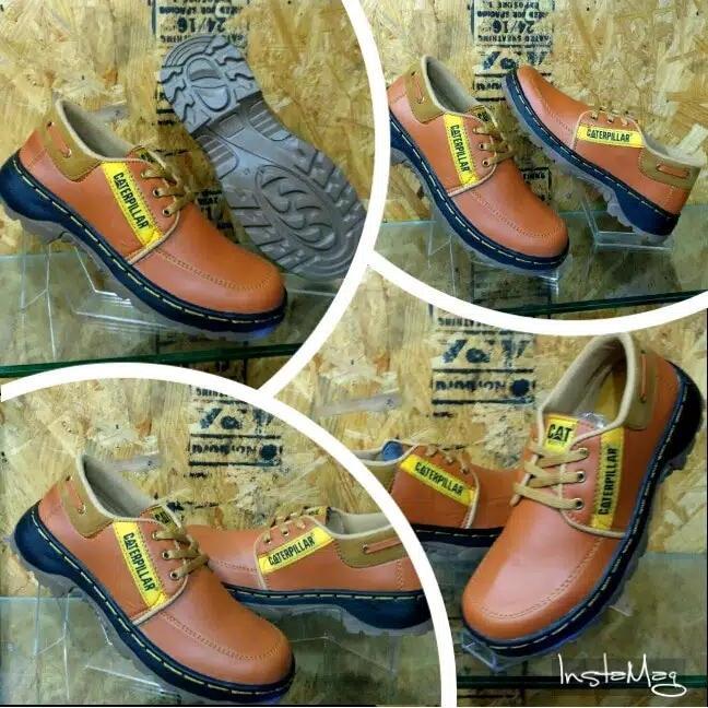 DISKON JUAL Sepatu Safety Low Boots Caterpillar Terbaru SEMARANG 217a89fee6