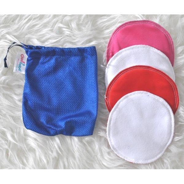 Breastpad Clue Bebe Reusable - Breastpad Cuci Ulang Cbb - 4pc By Audrey Babyshop.