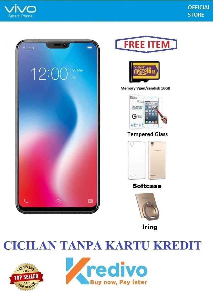 Vivo V9 Ram 6/64GB - Bisa Cicilan Tanpa Kartu Kredit + Free 4 Items