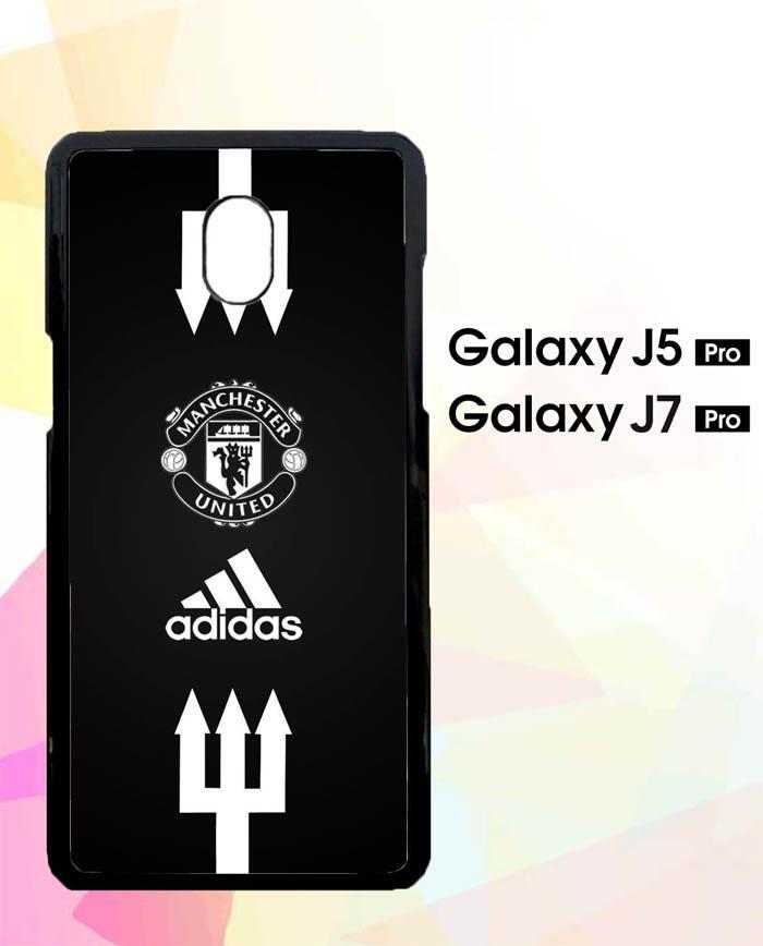 Custom Hardcase Samsung Galaxy J5 PRO 2017 Manchester United Adidas E0488 Case Cover